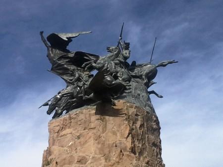 Das Wahrzeichen in Mendoza