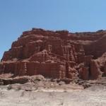 250 meter roter Sandstein