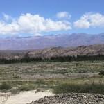 Auf der 8 h Fahrt von San Juan ueber Calingasta nach Mendoza