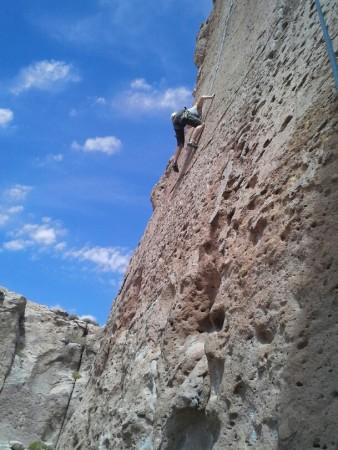Rumeiern am Fels auf 3600 müM bei Socaire