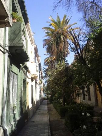 """In Santiago sind wir im aufstrebenden Quartier """"Yungay"""" gelandet"""