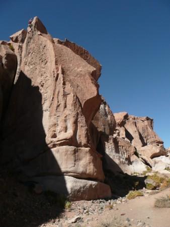 Quebrada Toma bei Socaire (Atacama - CL)
