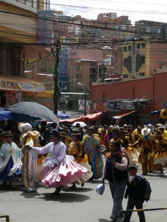 Tanzparade Paceño