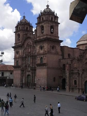 Cuscos Hauptplatz