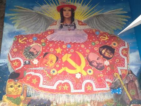 """""""Cold war"""" - peruanische Kunst im Fallen Angel (Cusco)"""