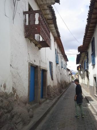 Juanito in den Gassen von Cusco