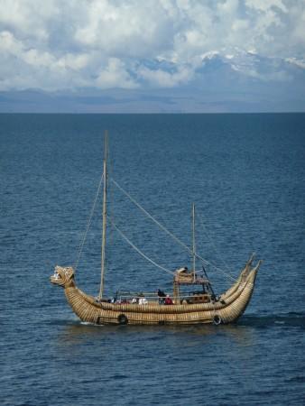 Schilfschiff aufm Titicacasee