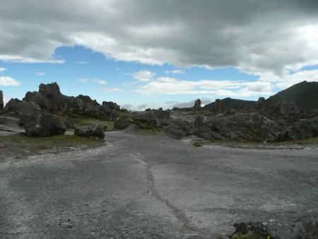 Autobahn auf dem Rockgarden