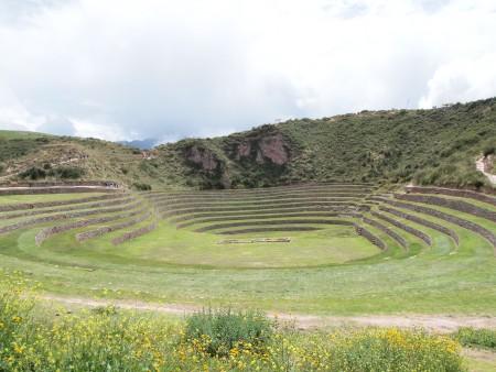 Moray, die agrikulturelle Testkammer der Inka