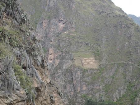 weit weg, die Voratskammern der Inkas