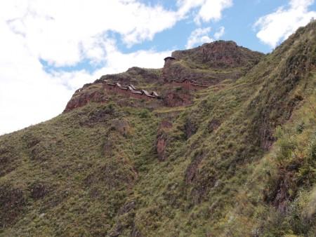 Lebensmittellager der Incas ob Pisac