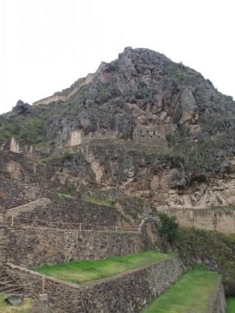 Die Ruinen Ollantaytambo