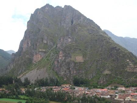 Kornspeicher in Ollantaytambo